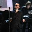 "Ringo Starr performs ""Photograph"" at the 56th annual Grammy Awards at Staples Center on Sunday, Jan. 26, 2014, in Los Angeles. (Photo by Matt Sayles/Invision/AP)"