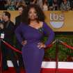 Oprah Winfrey arrives at the 20th annual Screen Actors Guild Awards at the Shrine Auditorium on Saturday, Jan. 18, 2014, in Los Angeles. (Photo by Jordan Strauss/Invision/AP)
