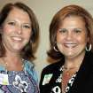AWARD LUNCHEON...Patty Anthony and Karla Wallace. (Photo provided).