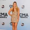 Colbie Caillat arrives at the 47th annual CMA Awards at Bridgestone Arena on Wednesday, Nov. 6, 2013, in Nashville, Tenn. (Photo by Evan Agostini/Invision/AP)