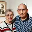 Miguelito and Olga Miranda married five months ago and are beginning a life together as husband and wife after a nearly 70 year separation.  Miguelito and Olga were neighbors in Puerto Rico and childhood sweethearts, described by both as the other's