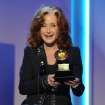 Bonnie Raitt accepts the award for best Americana album for