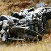 The driver of a motorcycle and the driver and passenger of a car were taken by ambulance from the scene of a car/motorcycle accident at Rock Creek Road and 12th Avenue NE in Norman, Oklahoma on Thursday November 13, 2008.  By Steve Sisney, The Oklahoman