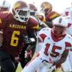 Oklahoma running back signee Damien Williams, who played at Arizona Western, carries the ball in a 2011 game. PHOTO PROVIDED