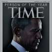In this image released Wednesday, Dec. 19, 2012 in New York by Time Inc., President Barack Obama is Time Magazine's Person of the Year.  The selection was announced Wednesday on NBC's