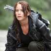 In this image provided by Lionsgate, Jennifer Lawrence portrays Katniss Everdeen in a scene from