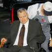Gene Stipe going into the Federal Courthouse in Muskogee for a hearing on whether he should be sent back to prison, Monday, October 15, 2007.  Photo By David McDaniel,  The Oklahoman