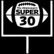 HIGH SCHOOL FOOTBALL: The Oklahoman's Super 30 LOGO / GRAPHIC