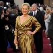 Meryl Streep arrives before the 84th Academy Awards on Sunday, Feb. 26, 2012, in the Hollywood section of Los Angeles. (AP Photo/Chris Pizzello) ORG XMIT: OSC274