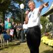 Gov. Mike Beebe speaks to supporters at a rally in Jonesboro, Ark. on Saturday, Nov. 3, 2012. (AP Photo/The Jonesboro Sun, George Jarded)