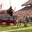 Screen grab from NCAA 12 of the OU Schooner. PHOTO PROVIDED