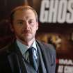 Actor Simon Pegg arrives on the red carpet for the UK Premiere of Mission: Impossible Ghost Protocol, at a central London cinema, Tuesday, Dec. 13, 2011. (AP Photo/Joel Ryan) ORG XMIT: LENT111