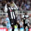 Newcastle United's Demba Ba, is seen during their English Premier League soccer match against Manchester City at the Sports Direct Arena, Newcastle, England, Sunday, May 6, 2012. (AP Photo/Scott Heppell)