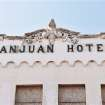 This Sept. 20, 2012 photo shows the historic San Juan Hotel in San Juan, Texas. The hotel is a Texas Historical Landmark that's one of the upper Valley's oldest buildings. (AP Photo/Valley Morning Star, Dina Arevalo)
