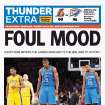 Game 3: Thunder-Lakers, May 19, 2012