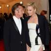 Sean Penn, left, and Charlize Theron attend The Metropolitan Museum of Art's Costume Institute benefit gala celebrating