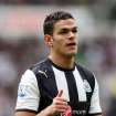 Newcastle United's Hatem Ben Arfa, is seen during their English Premier League soccer match against Manchester City at the Sports Direct Arena, Newcastle, England, Sunday, May 6, 2012. (AP Photo/Scott Heppell)