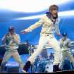 FILE - In this Aug. 31, 2010 file photo, singer Justin Bieber performs at Madison Square Garden in New York. (AP Photo/Evan Agostini, file) ORG XMIT: NYET256