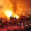 Firefighters work the scene where an explosion has killed two people and damaged more than a dozen homes in the Richmond Hill subdivision, late Saturday, Nov. 10, 2012, in Indianapolis. (AP Photo/The Indianapolis Star, Matt Kryger) NO SALES