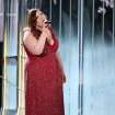"Mary Lambert performs ""Same Love"" on stage at the 56th annual Grammy Awards at Staples Center on Sunday, Jan. 26, 2014, in Los Angeles. (Photo by Matt Sayles/Invision/AP)"