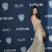Emily Ratajkowski arrives at the 15th annual InStyle and Warner Bros. Golden Globes after party at the Beverly Hilton Hotel on Sunday, Jan. 12, 2014, in Beverly Hills, Calif. (Photo by Matt Sayles/Invision/AP)