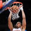 New York Knicks' Chris Copeland dunks the ball during the second quarter of an NBA basketball game against the Portland Trail Blazers, Tuesday, Jan. 1, 2013, at Madison Square Garden in New York. (AP Photo/Bill Kostroun)