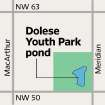 MAP / GRAPHIC: Dolese Youth Park pond