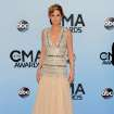 Jennifer Nettles arrives at the 47th annual CMA Awards at Bridgestone Arena on Wednesday, Nov. 6, 2013, in Nashville, Tenn. (Photo by Evan Agostini/Invision/AP)