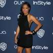 Keke Palmer arrives at the 15th annual InStyle and Warner Bros. Golden Globes after party at the Beverly Hilton Hotel on Sunday, Jan. 12, 2014, in Beverly Hills, Calif. (Photo by Matt Sayles/Invision/AP)