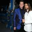 Jim Carrey, left, and Jared Leto pose backstage during the Oscars at the Dolby Theatre on Sunday, March 2, 2014, in Los Angeles. Leto won the Oscar for best supporting actor for his role in