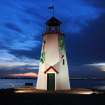 """Lighthouse at Lake Hefner """"Wearin' the Green""""  Community Photo By:  Michael Gross  Submitted By:  Michael, Oklahoma City"""