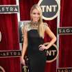 Katrina Bowden arrives at the 20th annual Screen Actors Guild Awards at the Shrine Auditorium on Saturday, Jan. 18, 2014, in Los Angeles. (Photo by Matt Sayles/Invision/AP)
