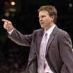 OKLAHOMA CITY THUNDER NBA BASKETBALL: Oklahoma City Thunder head coach Scott Brooks.    BY HUGH SCOTT, THE OKLAHOMAN ORG XMIT: KOD