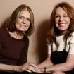 In this Tuesday, Jan. 15, 2013 photo, Gloria Steinem, left, and Marlo Thomas, from the program