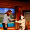 A panel discussion tomorrow (Wednesday) at Oklahoma City University will address interfaith religious perspectives on human-robot interaction.  Community Photo By:  Photo from American Honda Motor Co.  Submitted By:  Leslie, Oklahoma City