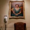 A portrait of Mrs. Perle Skirvin Mesta hangs in the lobby outside the House of Representatives Chamber at the Oklahoma State Capitol in Oklahoma City on Monday, Feb. 7, 2011. Photo by John Clanton, The Oklahoman