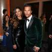 Camila Alves, left, and Matthew McConaughey pose in the audience at the 71st annual Golden Globe Awards at the Beverly Hilton Hotel on Sunday, Jan. 12, 2014, in Beverly Hills, Calif. (Photo by Matt Sayles/Invision/AP)
