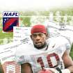 COURT DOCUMENTS / FLORIDA STATE UNIVERSITY / NORTH AMERICAN FOOTBALL LEAGUE / NAFL / FSU blew whistle GRAPHIC WITH PHOTO: UNIVERSITY OF OKLAHOMA / OU COLLEGE FOOTBALL: Oklahoma linebacker Mike Balogun is pictured during a team football practice in Norman, Okla., Monday, Aug. 18 2008. (AP Photo)   ILLUSTRATION BY TODD PENDLETON, THE OKLAHOMAN