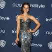 Kate Beckinsale arrives at the 15th annual InStyle and Warner Bros. Golden Globes after party at the Beverly Hilton Hotel on Sunday, Jan. 12, 2014, in Beverly Hills, Calif. (Photo by Matt Sayles/Invision/AP)