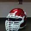 The Sooners' new facemasks. Photo by OU Athletics Communications
