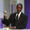 Don Cheadle accepts the award for outstanding actor in a comedy series for