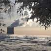 A smoke of heating plant is seen on a winter's morning in Minsk, Belarus, Wednesday, Jan. 23, 2013, as temperatures of minus 14 degree Celsius (minus 6.8 degree Fahrenheit) hit the Belarusian capital. (AP Photo/Sergei Grits)