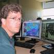 Scott Curl, meteorologist, National Weather Service Norman forecast office, at the National Weather Center in Norman Tuesday, April 21, 2009. Curl recently talked about technology regarding the May 3, 1999 tornadoes. Photo by Bryan Painter, The Oklahoman ORG XMIT: KOD