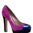 Get the fashionable socialite looks with this Vince Camuto Jorgie colorblock pump ($89.99 at Dillards.com) (LA Times/MCT)