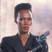 This undated publicity photo provided by United Artists and Danjaq, LLC shows Grace Jones as May Day from the James Bond 1985 film,
