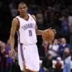 OKLAHOMA CITY THUNDER / MIAMI HEAT / NBA BASKETBALL: Russell Westbrook during the Thunder - Miami game January 18, 2009 in Oklahoma City.    BY HUGH SCOTT, THE OKLAHOMAN ORG XMIT: KOD