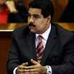 Venezuela's Vice President Nicolas Maduro listens a speech by Luisa Estella Morales, president of Supreme Court, during a special session marking the start of the judicial year in Caracas, Venezuela, Monday, Jan. 21, 2013. Maduro said Sunday he's optimistic that President Hugo Chavez will soon return to Venezuela following cancer-related surgery in Cuba. (AP Photo/Fernando Llano)