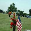 Flags as well as flowers are abundant this Memorial Day Weekend at local cemetaries  Community Photo By:  Jenna McIntosh  Submitted By:  Jenna,