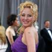 Virginia Madsen arrives before the 84th Academy Awards on Sunday, Feb. 26, 2012, in the Hollywood section of Los Angeles. (AP Photo/Amy Sancetta) ORG XMIT: OSC219