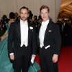 "Tom Ford, left, and Benedict Cumberbatch attend The Metropolitan Museum of Art's Costume Institute benefit gala celebrating ""Charles James: Beyond Fashion"" on Monday, May 5, 2014, in New York. (Photo by Evan Agostini/Invision/AP)"